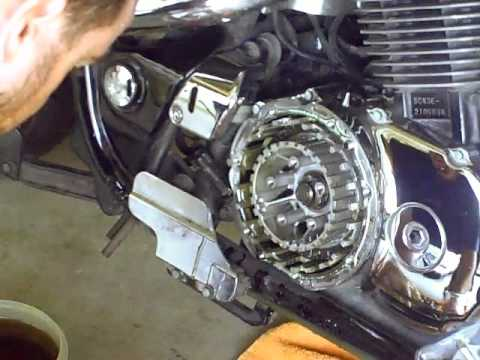 hqdefault honda shadow sabre clutch replacement youtube 2004 honda shadow sabre 1100 wiring diagram at bayanpartner.co