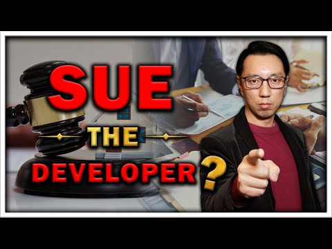 Is it worthwhile to sue the developer for a project cancellation?