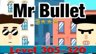 mr Bullet Level 305-320 Chapter 20 Laboratory Walkthrough - 3 Stars