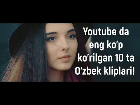 Youtube da eng ko'p ko'rilgan 10 ta O'zbek kliplari! (2018-yil 21-yanvar ko'rsatgichlari))