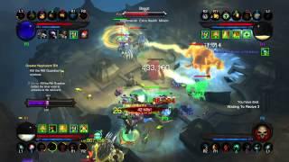 Diablo III: Reaper of Souls – couch coop 4 players PS4 GRIFT27