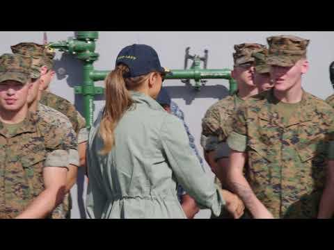 First Lady Melania Trump Visits Puerto Rico