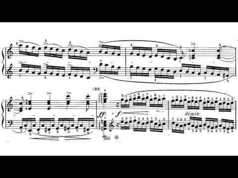 J.B. Cramer Fifty Selected Piano Studies No. 1
