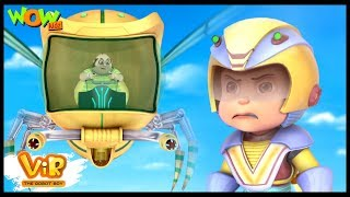 Giant Robot Bee Attack - Vir: The Robot Boy WITH ENGLISH, SPANISH & FRENCH SUBTITLES