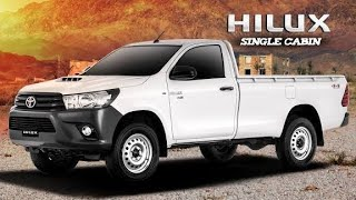 Toyota Hilux 4x2 Single Cabin | 2019 Complete Review