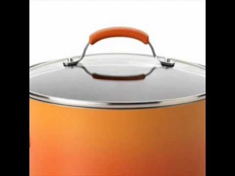 very nice cookware set rachael ray cookware reviews orange gradient