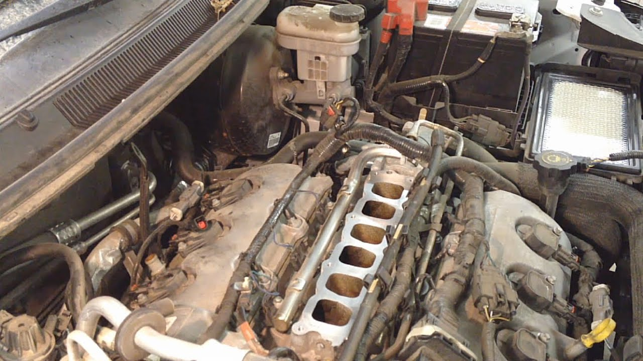 small resolution of ford 3 5l dohc upper intake removal procedure