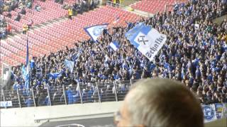 Nordkurve Gelsenkirchen:  Schalke in Neckarpark;  Stuttgart 0 - 4 Schalke