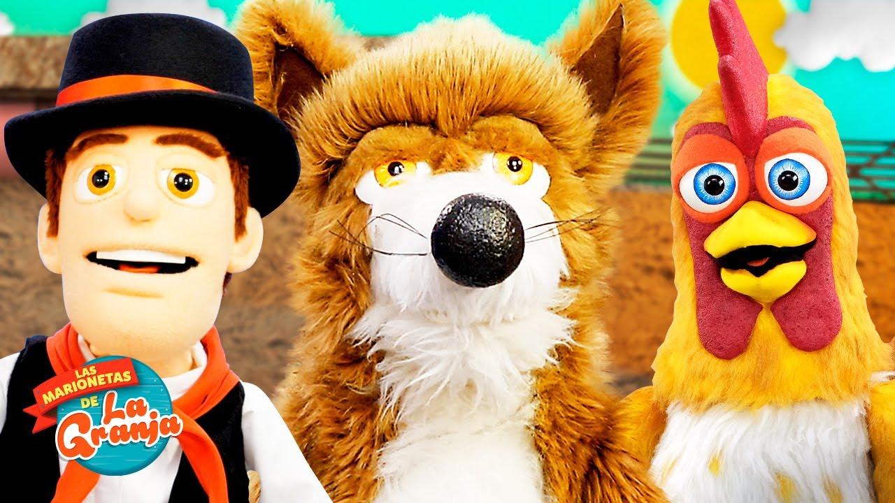 ¡A Cantar con Lobo Beto - Bartolito y Zenón! |  Las Marionetas de la Granja