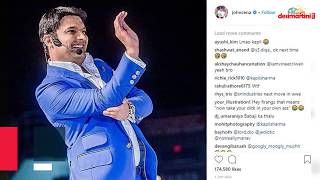 John Cena posts pictures of Kapil Sharma, Daler Mehndi, offers no explanation