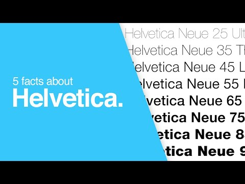 Helvetica Font - 5 Things You Might Not Know | Presented by Solopress