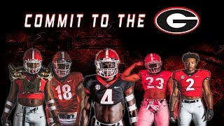Georgia National Signing Day 2020 | Mekhail Sherman, Kendall Milton, Marcus Rosemy & MORE