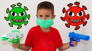 Children's Story about viruses by LETSGOMARTIN Canciones Infantiles