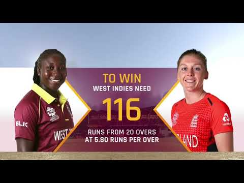West Indies v England - Women's World T20 2018 highlights