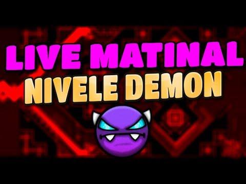LIVE MATINAL  - Termin 3 nivele DEMON!!!