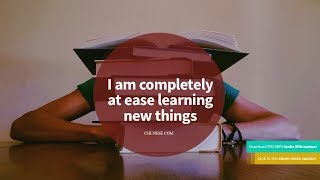 ✨ Powerful Learning Affirmations ✨  Improve Your Memory Power and Learning Ability