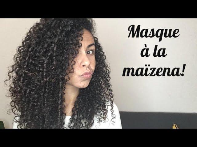 Masque A La Maizena 100 Naturel Et Fait Maison Youtube