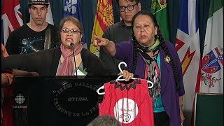 Indigenous Women Shut Down Canadian Reporters