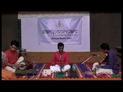 Sampoornam Foundation for music and arts | Music Talented Young artists | Team Vibgyor Mohana l Day2