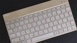deutsch collen bk100 bluetooth tastatur testbericht elegant und 7 led farben