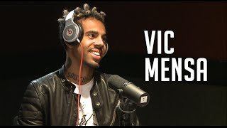 Vic Mensa Talks Drake Songwriting Scandal On Ebro In The Morning!!