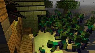 ВЫЖИТЬ В ЗОМБИ АПОКАЛИПСИСЕ | Minecraft | 3 Серия