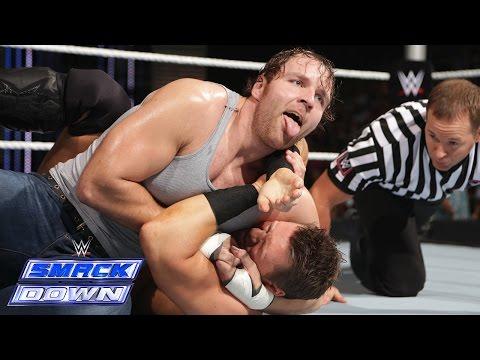 Dean Ambrose vs. The Miz: SmackDown, Sept. 26, 2014