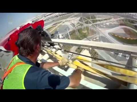 MEGASTRUCTURE FERRARI WORLD ABU DHABI CONSTRUCTION DOCUMENTARY
