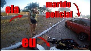 MULHER E PEGA NO FLAGRA TRAINDO MARIDO POLICIAL