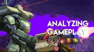 Analyzing Vainglory Gameplay - Episode 11: Saw |WP| Lane Gameplay |Update 1.13|