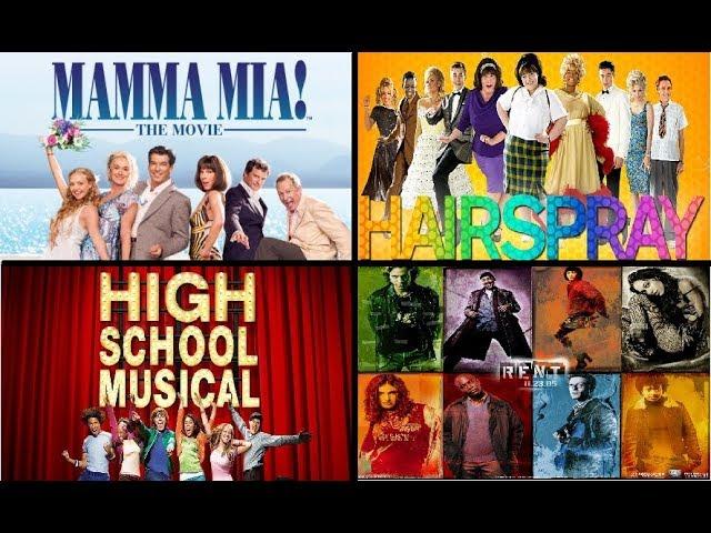50 Favorite Movie Musical Songs Youtube