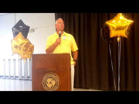 THE 2017 CABRILLO SENIOR HIGH SCHOOL HALL OF FAME INDUCTION CEREMONY & BBQ.