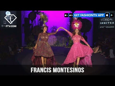 Madrid Fashion Week Spring Summer 2018 - Francis Montesinos | FashionTV