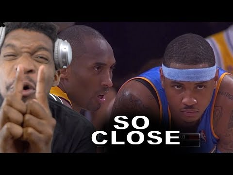 Too CLOSE to the FINALS! Carmelo Anthony CONFERENCE FINALS vs Lakers (2009 NBA Playoffs)