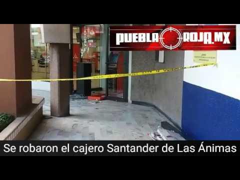 Roban cajero de santander de galer a las nimas youtube for Cajeros santander para ingresar dinero