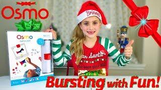 Best Present 🎁 from Santa! Bursting with Fun- Osmo Genius Kit!