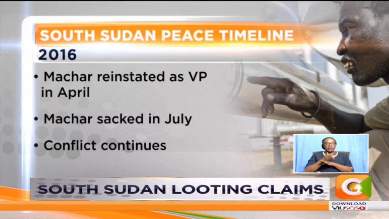 South Sudan looting claims