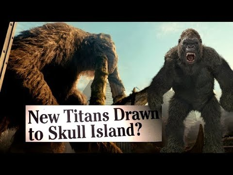 What is Drawing Titans to Skull Island? / Godzilla Vs. Kong lead in