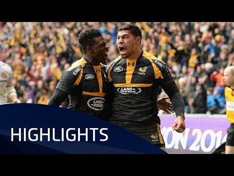 Wasps v Exeter Chiefs (QF2) Highlights – 09.04.2016