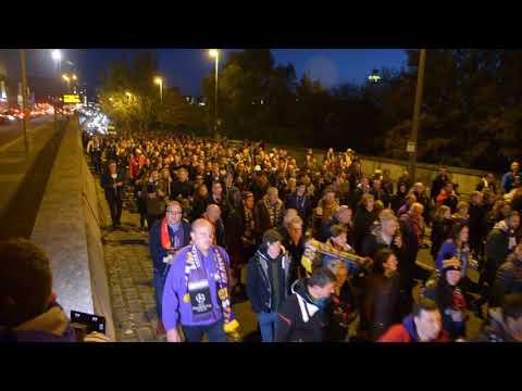 Gostovanje navijačev NK Maribor v Livepoolu - After movie
