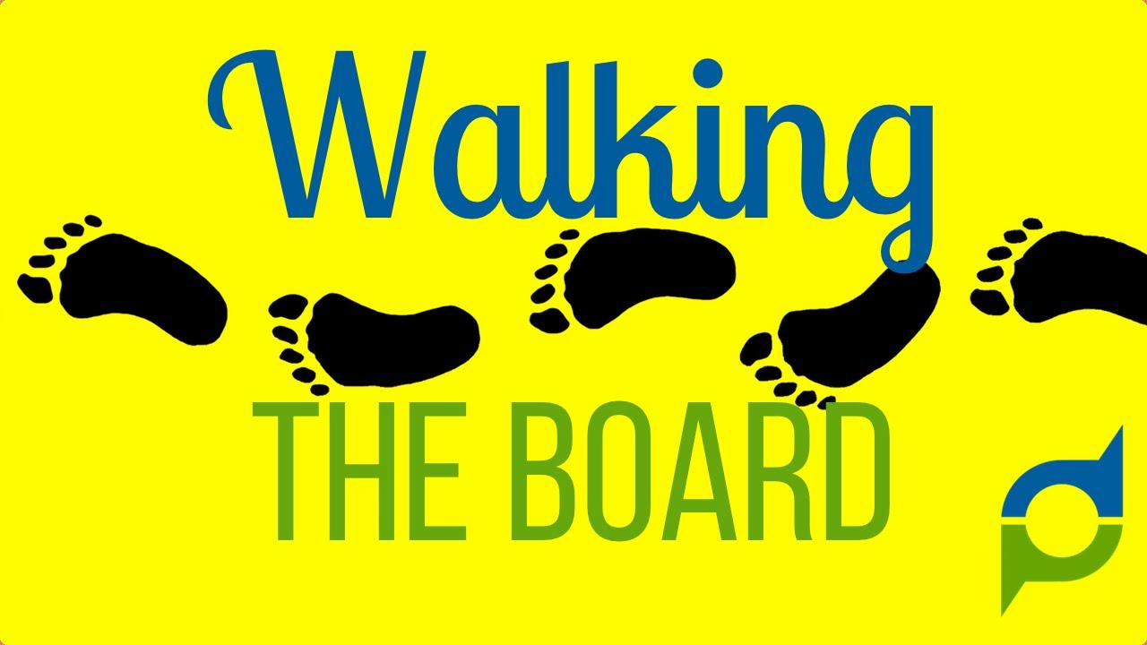Walking the Board Walk
