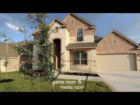 San Antonio Real Estate |  Santa Maria at Alamo Ranch Sierra Mesa floor plan | Jesse Rene Garza