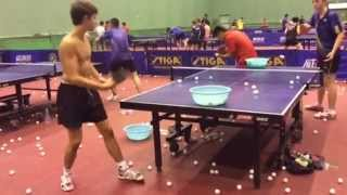 China National Team - Warm up in Zhengding