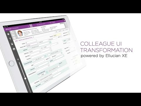 Check out Colleague® by Ellucian's fresh, new interface