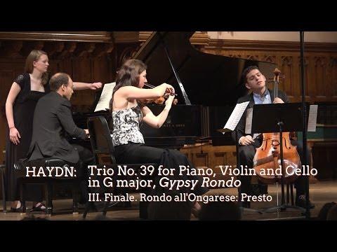 "Haydn Trio No. 39 ""Gypsy Rondo,"" Mvt III - ChamberFest Cleveland (2014)"