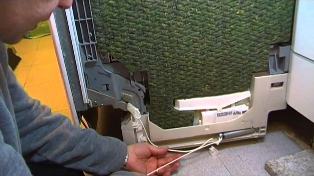 Reparacion casera puerta lavavajillas bosch se cae - Lavavajillas bosch panelable ...