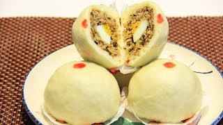 Cách làm BÁNH BAO/Steamed Buns(Baozi 包子) ngon mịn, ai cũng mê ❤️