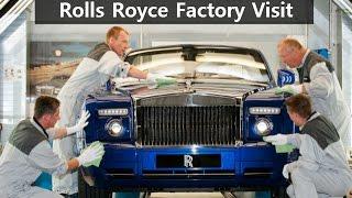 Rolls Royce Factory Visit   EXCLUSIVE   Top Speed