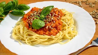 Vegán Bolognai Spagetti / HappyKitchen