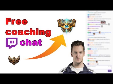 Twitch chat benefits ! - Free Coaching with Wickd